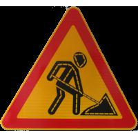 Дорожный знак 1.25 (тип А) светодиодный