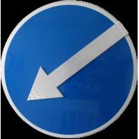 Дорожный знак 4.2.2 (тип А) светодиодный